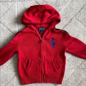 Polo by Ralph Lauren Hooded Sweater - 4